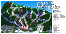 Quad Peaks Ski Resort in Alleron City Minecraft Project