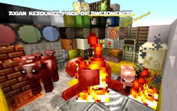 Axian Resource Pack of AWESOMENESS! Minecraft