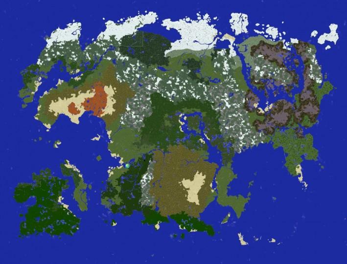 Minecraft Map Island Huge