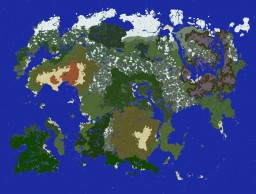 Tamriel in Minecraft 9.6k x 7.3k Minecraft Map & Project
