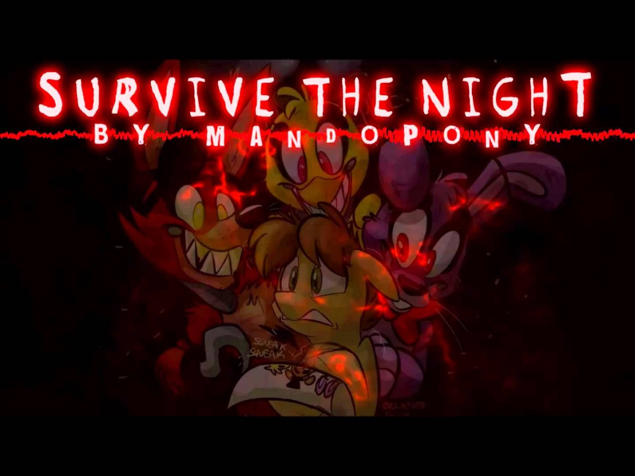 Survive the night mandopony note block minecraft project