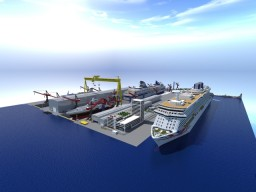 STX-Minecraft Shipyard Minecraft Map & Project