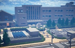 A Japanese High school Minecraft Map & Project