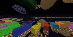 """""""Extreme_RainBow_Road_MC-Edition"""" (Speed Parkour) Minecraft Map & Project"""