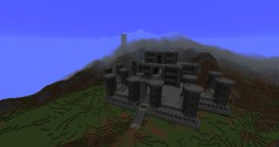 Dwarven Castle (Progress) Minecraft