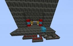 4 LONG 2 WIDE Fancy Piston Door Minecraft Map & Project
