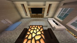 Living-Room furniture design Minecraft Map & Project