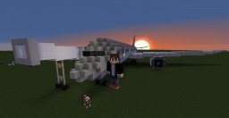 American Airlines Boeing 787-9 Minecraft Map & Project