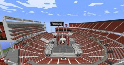 Levi's Stadium - Santa Clara Bay Area Minecraft