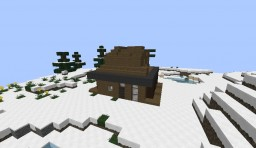 Winter House [Modern] Minecraft Map & Project