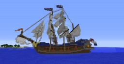 Dutch 17th century frigate Minecraft Map & Project