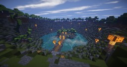 Bowl WaterPool Spawn - Minecraft Map & Project