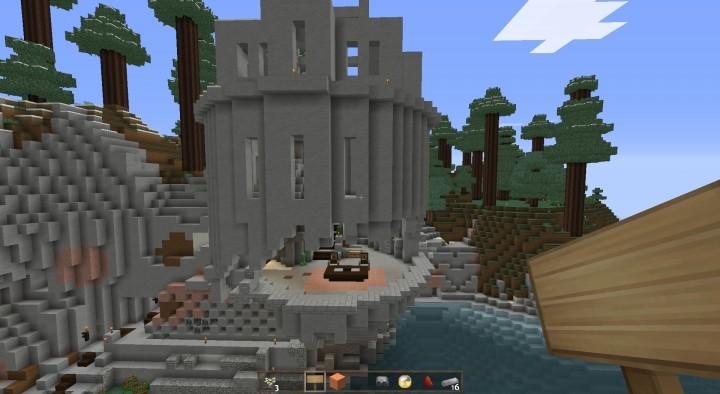 Start of a Castle