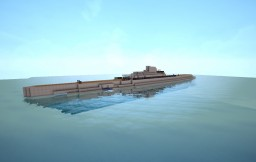 Surcouf Class Submarine with Full Interiors+Working Engines Minecraft Map & Project