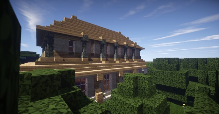 minecraft how to build a countryside