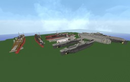 TurtlePenguin's Shipyard Minecraft Map & Project