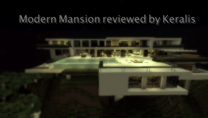 Modern house reviewed by keralis minecraft project for Modern house 5 keralis