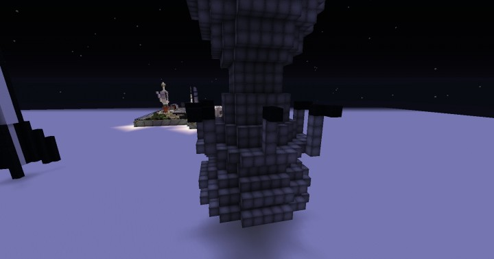 how to make a rocket engine in minecraft