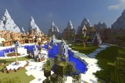 Medieval/Western Map - 'A Westbound Village'