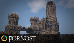 Minecraft Middle Earth: Fornost showcase