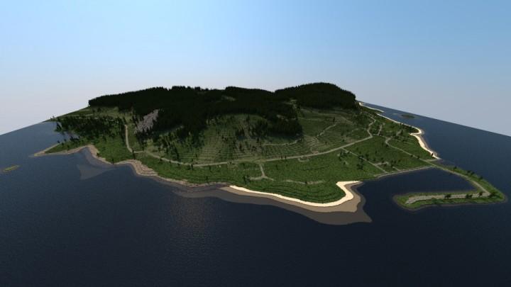 Chernarus Dayz Map Custom Terrain Minecraft Project