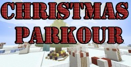 Christmas Parkour Minecraft Map & Project