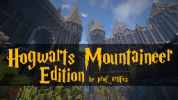 Hogwarts Mountaineer Edition + Download! Minecraft Map & Project