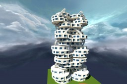 DnaTwinTowers Minecraft