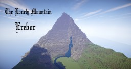 The Lonely Mountain - Erebor Minecraft Project