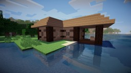 Small Cozy Fishing Hut Minecraft Map & Project