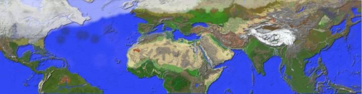 11500 BC ancient Civilzations on Display Ancient Earth Map