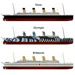H&W Titanic/Olympic/Britannic ship yard! Minecraft