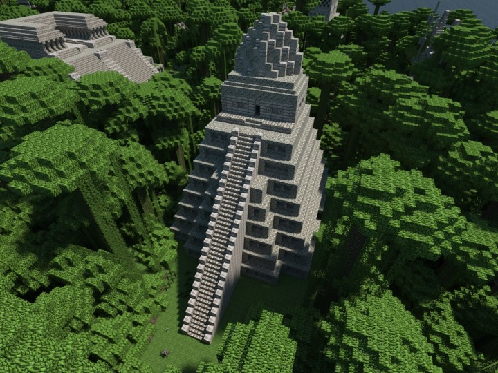 The last realm of Aztec civilization Minecraft Project