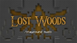 Note Block Music: Lost Woods / Saria's Song | playsound Minecraft Blog