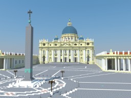 Petersdom - St. Peter's Basilica Minecraft Map & Project