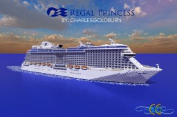 Regal Princess 1:1 Scale Cruise Ship [+Download] [Full-Interior] Minecraft Map & Project