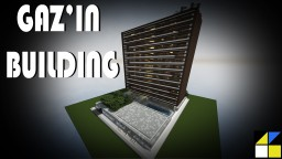 Gaz'in building - modern shape Minecraft