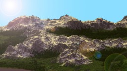 Plumoun - Peaceful Wilderness - Custom Terrain - 4K x 4K Minecraft Project