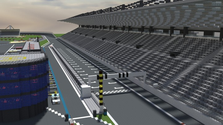 Racetrack Minecraft Project