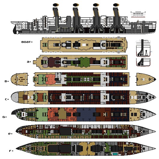 H Amp W Titanic Olympic Britannic Ship Yard Minecraft Project