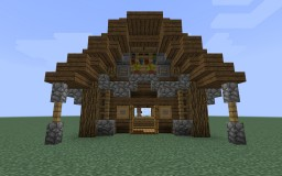 Village Shop Minecraft Map & Project