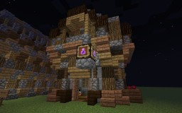 Witchy Potion Shop Hut - With Schemagic! Minecraft Map & Project