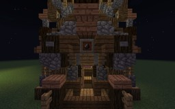 Witchy Stele Merchant's Hut - With Schemagic! Minecraft Map & Project