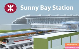 Sunny Bay MTR Station (欣澳) Minecraft Map & Project