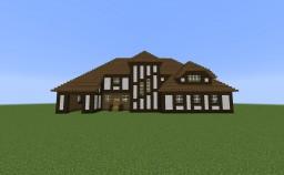 The Zembauer - German Fachwerkhaus (Tudor/Medieval House) Minecraft Map & Project