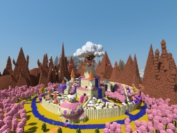 """Adventure Time: The Land of Ooo"" by to5toi Minecraft Map & Project"