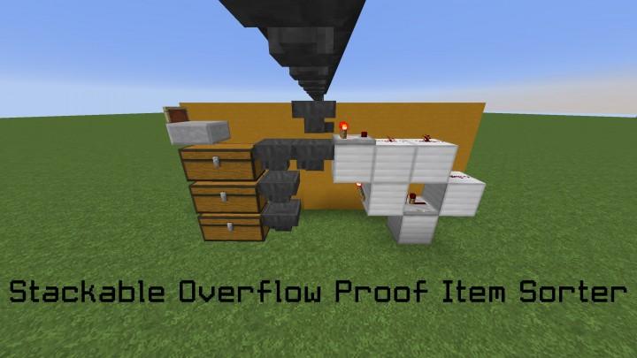 Item Sorter Stackable Amp Overflow Proof Silent Item