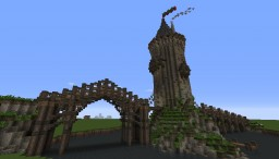 Bridge tower Minecraft Map & Project