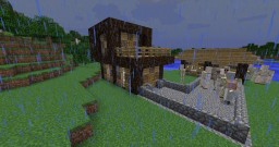 Village House Minecraft Map & Project