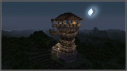 MEDIEVAL TOWN : WATCH TOWER MODEL 01 Minecraft